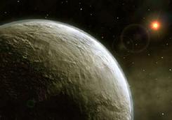 Az új exobolygó fantáziarajza