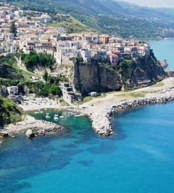 Fehér folt Nápoly és Szicília között - túra Calabriában