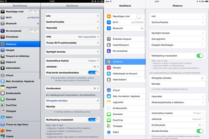 Gyengécske tipográfiát kapott az iOS 7